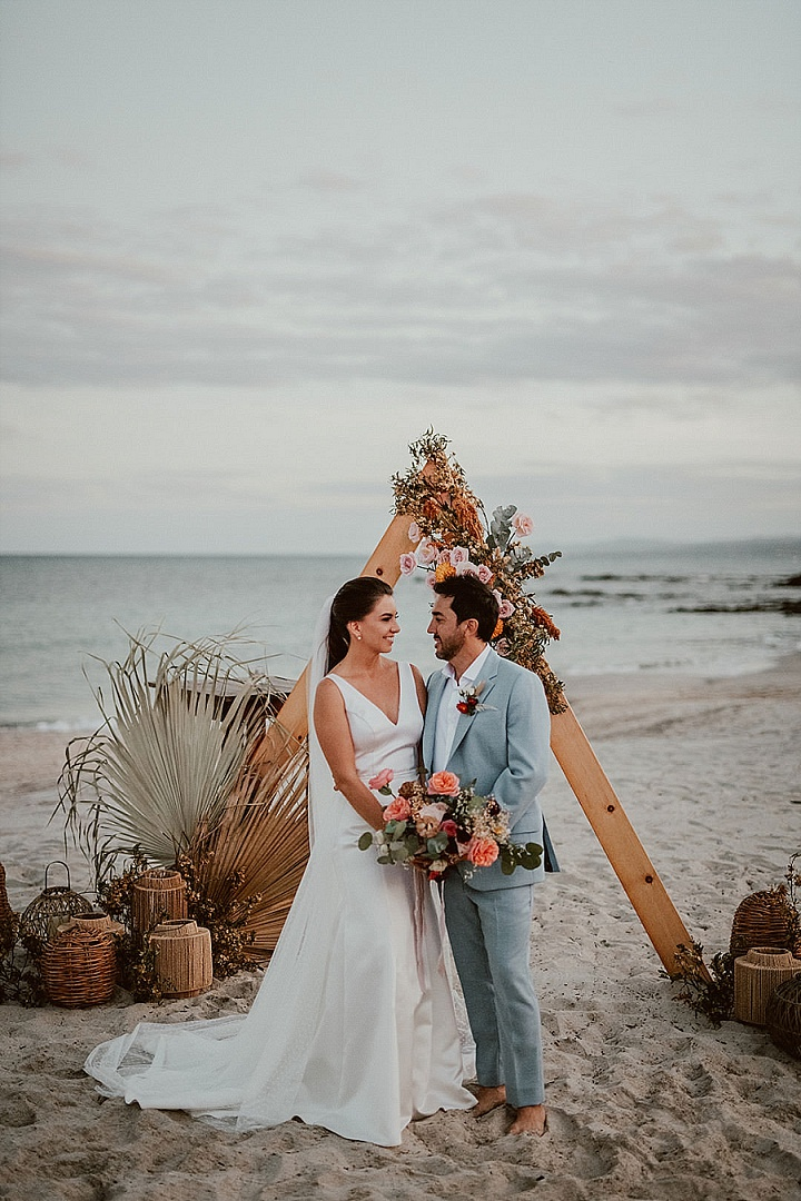 Maria and Andrade's Stunning 'Beach Boho' Wedding in Mexico