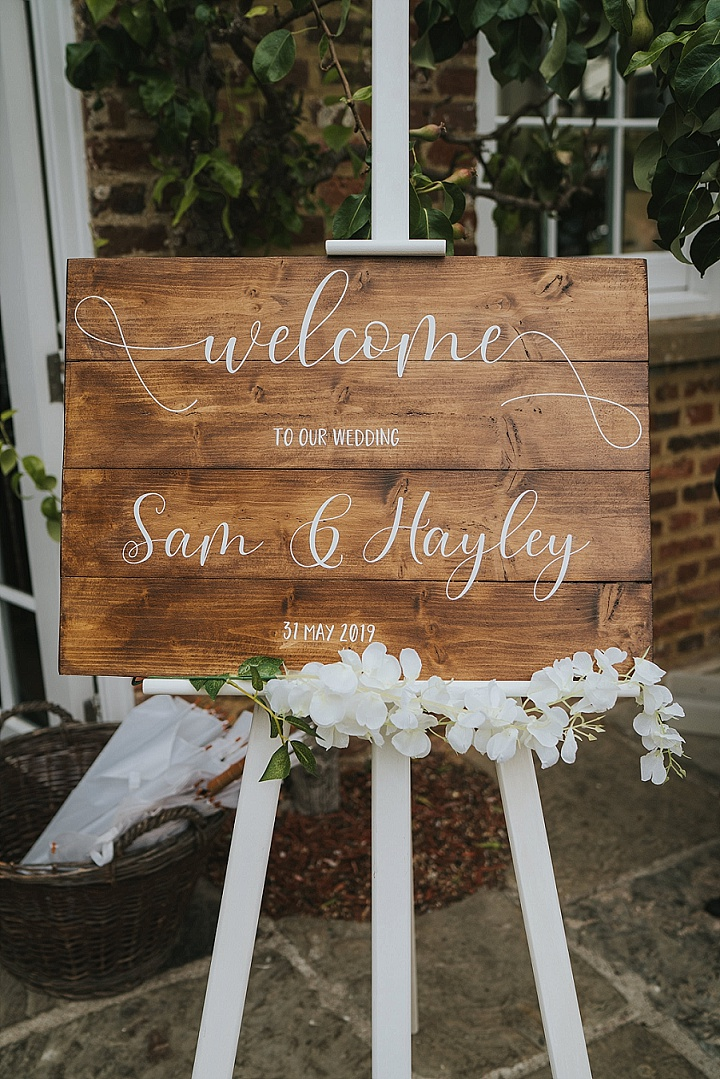 Hayley and Sam's 'Enchanted Forest' Outdoor Wedding in Kentby Grace Elizabeth