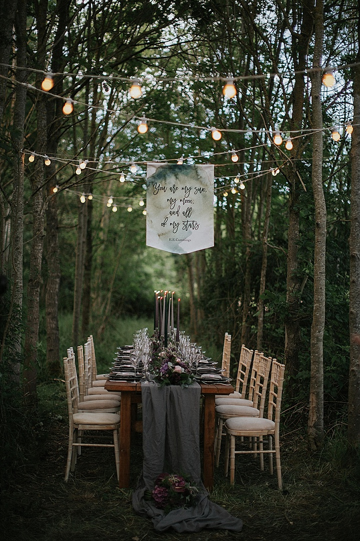 'Into the Woods' Magical Woodland Wedding Inspiration