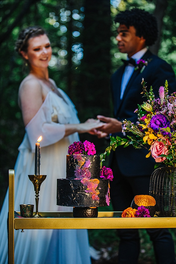 'Love in the Redwoods' Vibrant Jeweled Wedding Inspiration