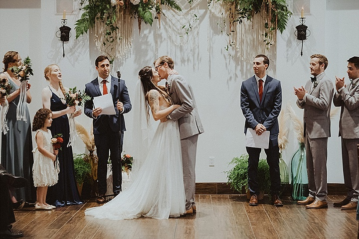 Hannah and Ben's Winter Beach Wedding in California by Gabriel Conover Photography