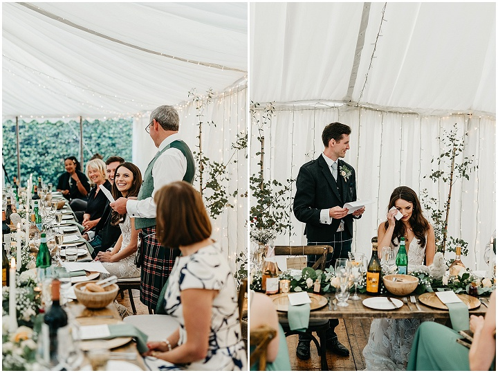 Kirsty and Jannik's'A Moment Of Utter Bliss In a Year of Complete Chaos!' Micro Farm Wedding at Home by Emma Lawson Photography