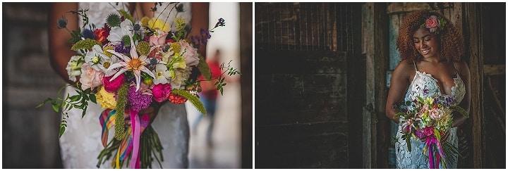 'Fun and Colour' Vibrant Rustic Farm Wedding Inspiration