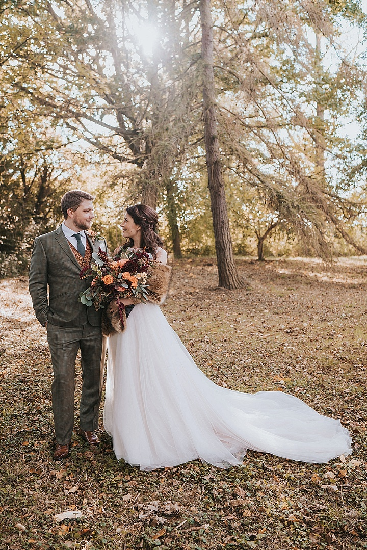 Natalie and John's Autumn Themed Barn Wedding by Grace Elizabeth