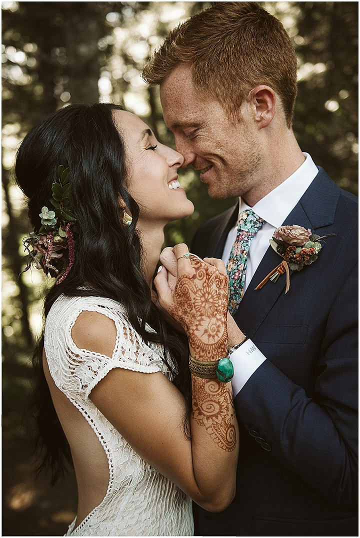 Danielle and John's 'Earthy Boho' Nature Loving Michigan Wedding by Jean Smith Photography