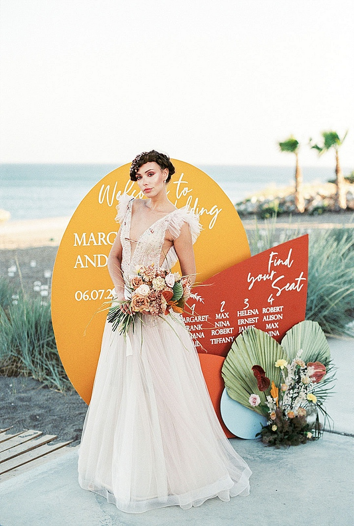 'Ethereal Boho' Modern Beach Side Wedding Inspiration