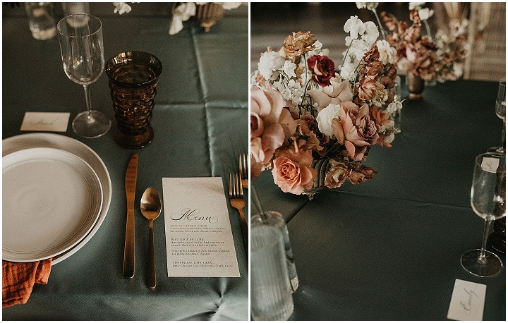 'Boho Industrial' Wedding Inspiration - Bright Colours, Fun Florals, and A Vintage Car