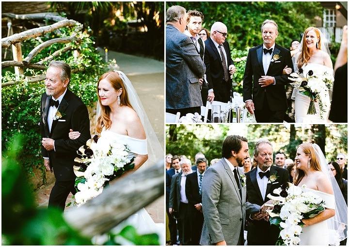 Caroline and Alex's 'Modern Boho' Art-Deco Malibu Wedding
