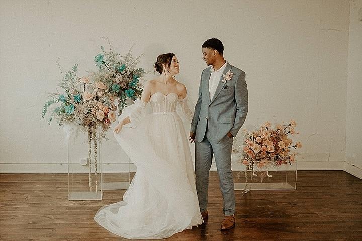 'Pastel Dreams' Ethereal Springtime Wedding Inspiration