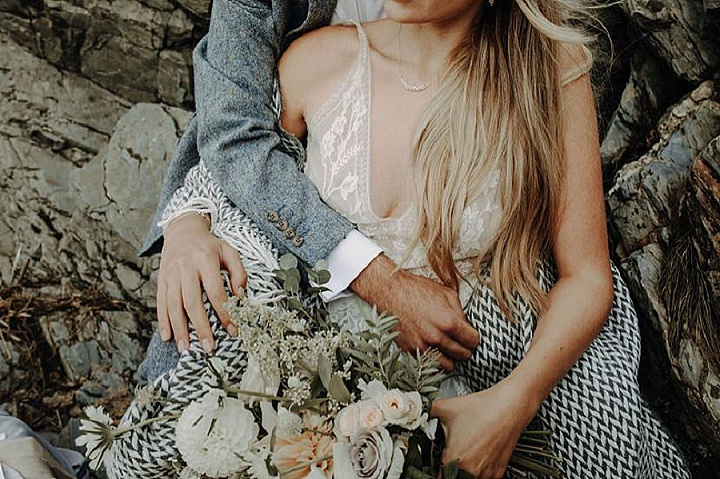 'Ethereal Beauty' Delicate and Natural Beach Elopement Inspiration