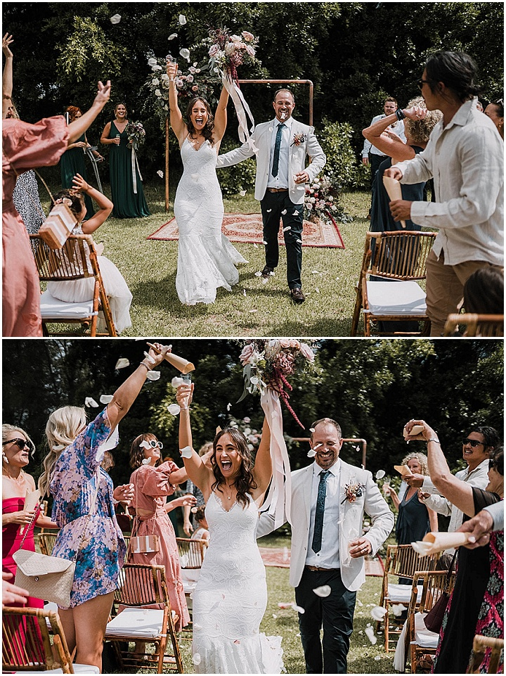 Ebony and Liam's Laid Back, Relaxed Surf Club Wedding in Australia by Love of Mine Photography