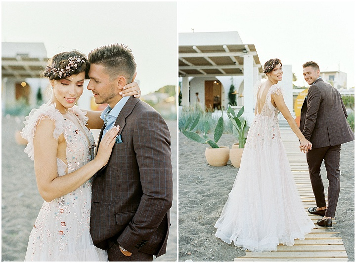 'Ethereal Boho' Modern Beach Side Wedding Inspiration