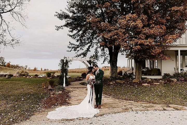 Megan and Taylor's Rustic Fall Barn WeddingBy Era 26 Photography
