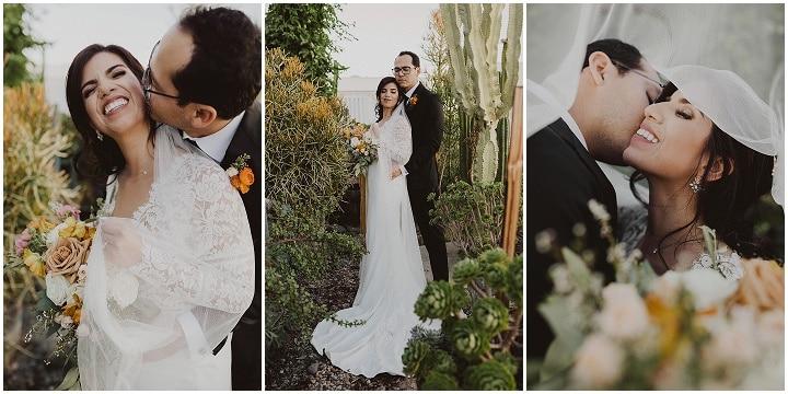 Lety and Joe's 'Modern Boho' Super Stylish San Diego Wedding by Gabriel Conover Photography