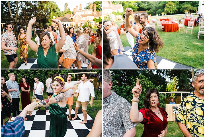 Jessica and Bill's 'Lovefest' Pool Party Wedding Celebration in Birmingham by Babb Photos