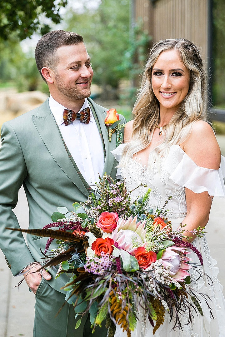 Alexa and Alex's Rainy Day Wedding in California by Leah Marie Photography
