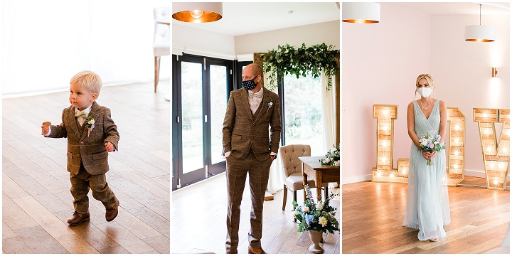Louise and Oliver's Intimate Autumn Woodland Wedding in Leicestershire by Lucy Long