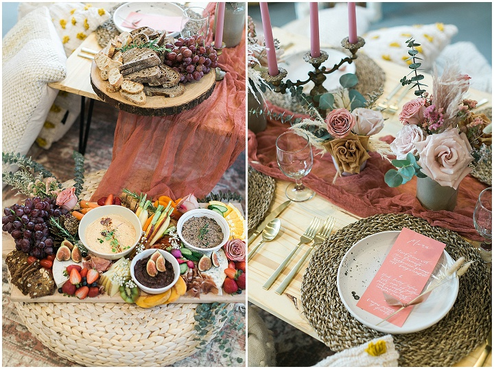 'Backyard Whimsical Boho' Soft and Romantic Wedding Picnic Inspiration