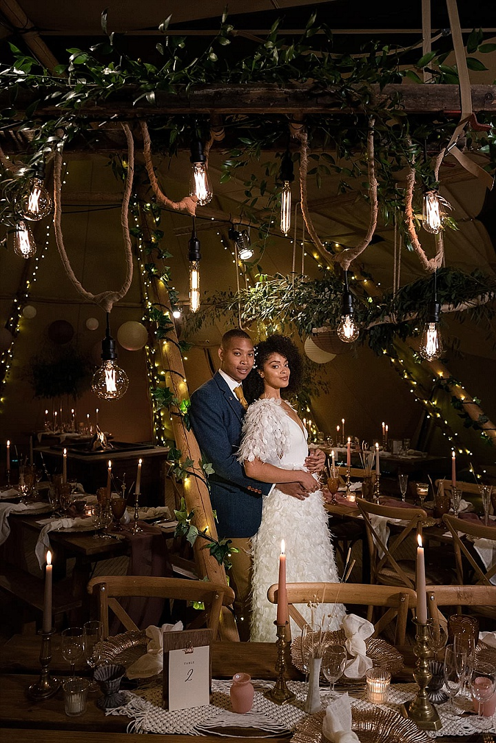 'Laid Back Magic' Amazing Outdoor Tipi Wedding Inspiration