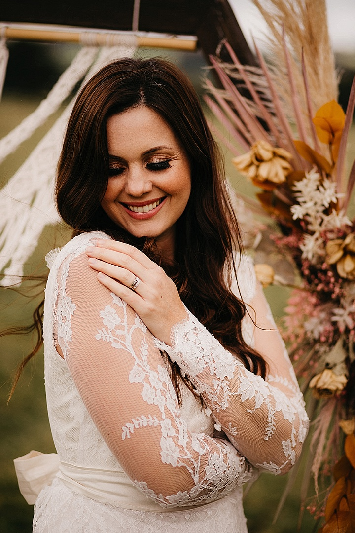 'The Outdoors Meets Glitz and Glamour' Tipi Wedding Inspiration