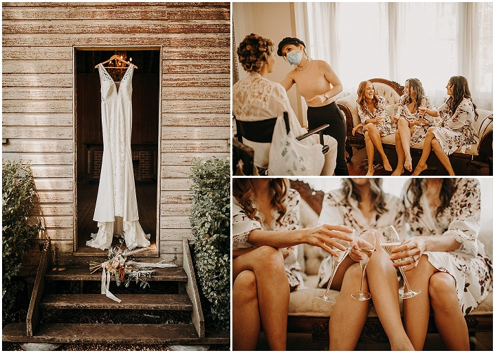 Stephanie and Cameron's Earth Toned Outdoor Woodland Wedding in Australia