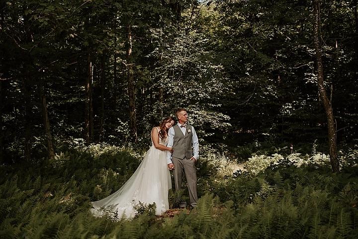 Ally and Cavan's Whimsical Romantic Backyard Wedding in New York