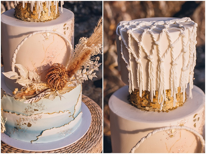 'Inspired by Nature' Wild and Romantic Devon Beach Elopement Inspiration