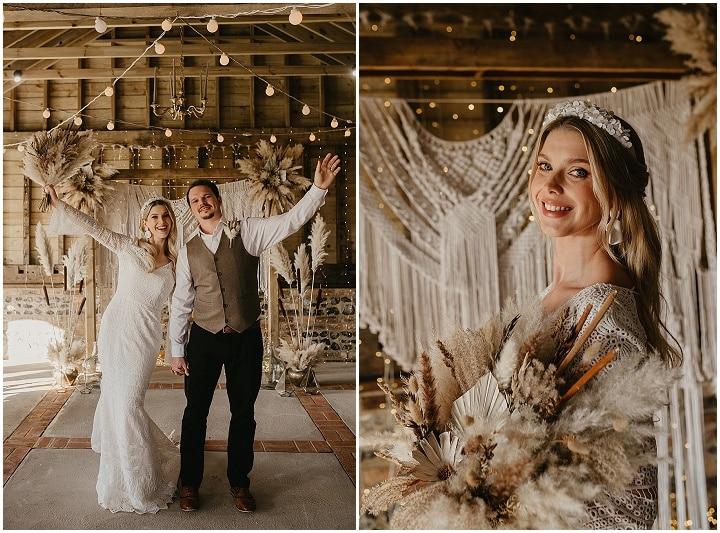 'Dreamy Boho' Relaxed, Warm and Elegant Wedding Inspiration