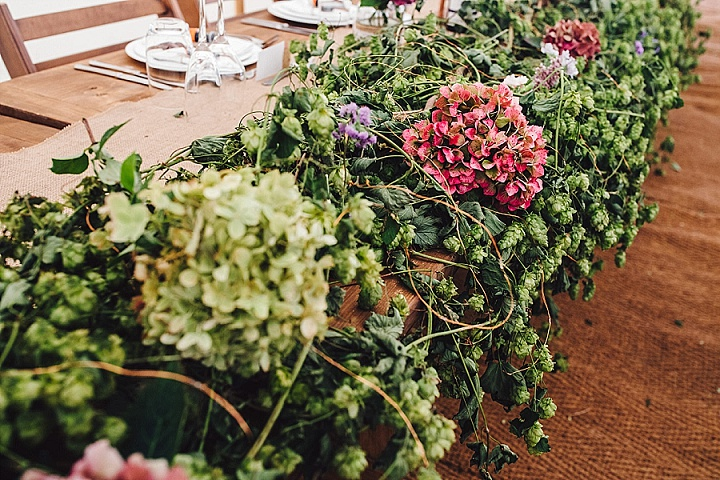 Francesca and Tom's Rustic, Country Style Garden Wedding with Wild Flowers by J S Coates