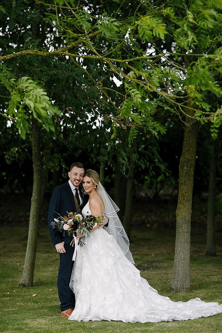 Zara and Matt's'Rustic Elegance' Barn Wedding in Warwickshire by Aden Priest