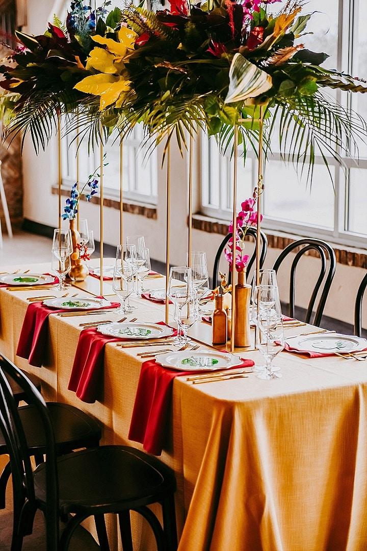 'Beachside Boho' Bright, Tropical and Bold Wedding Inspiration