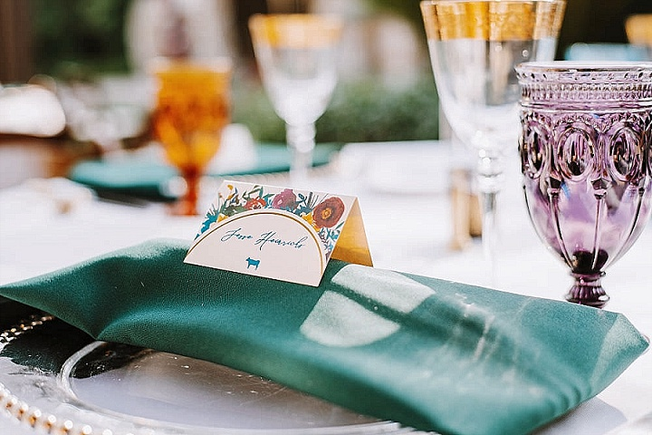 Frances and Pushpall's Colourful and Glamorous California Wedding by Alicja and Scout