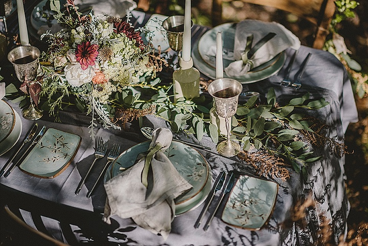 'Do Not Water Down Your Wild' Mythical and Enchanting Micro Wedding Inspiration