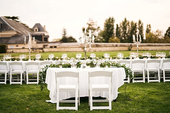 Rachelle and Christopher's Elegant and Sophisticated Chateau Wedding With An Epic Party by Fire and Ice