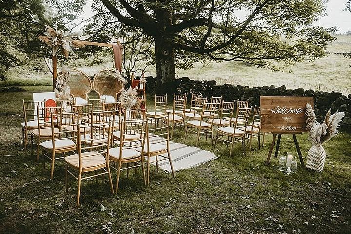 'Fun Boho' Indoor and Outdoor Wedding Inspiration