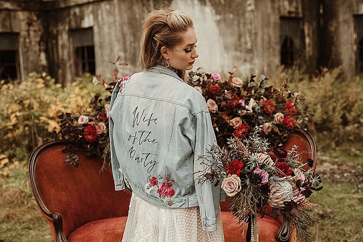 'Love is Rock' Edgy Rock and Roll Wedding Inspiration