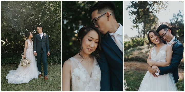 Jason and Naomi's Natural and Elegant Outdoor Wedding in Californiaby Anna Joy Photography
