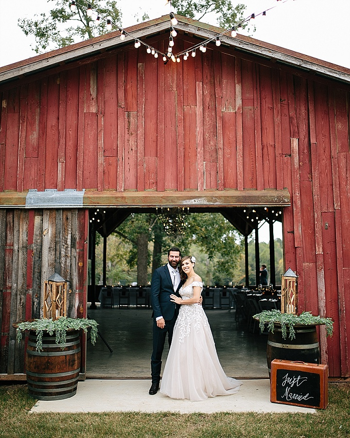 Melody and Blake's Relaxed, DIY Farmhouse Wedding in Georgia by Brandy Angel Photography