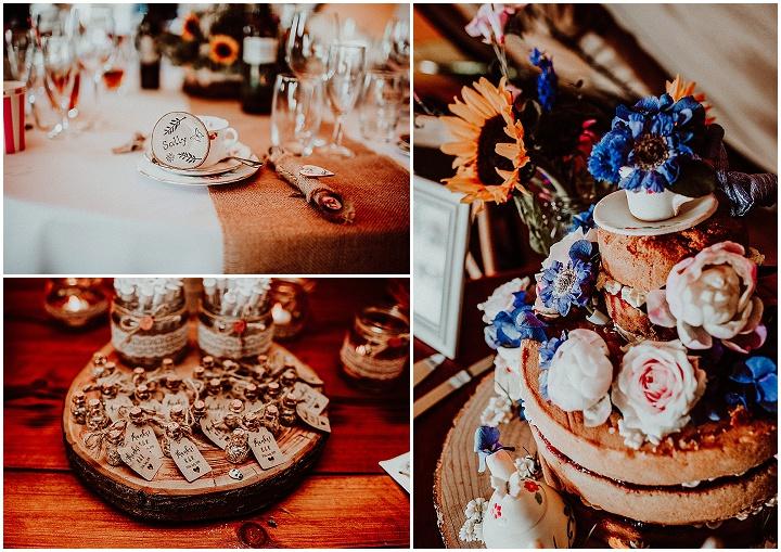 Becca and Bradley's 'Wildflower Heaven'Tip Wedding in Suffolk by Beth Beresford Photography