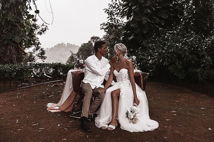 Boho Chic Hawaii Ranch Wedding Inspiration