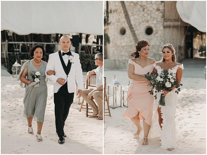 Geneva and Romeo's 'Tropical Vibes' Beach Wedding in The Dominican Republic by Tayler Ashley Photography