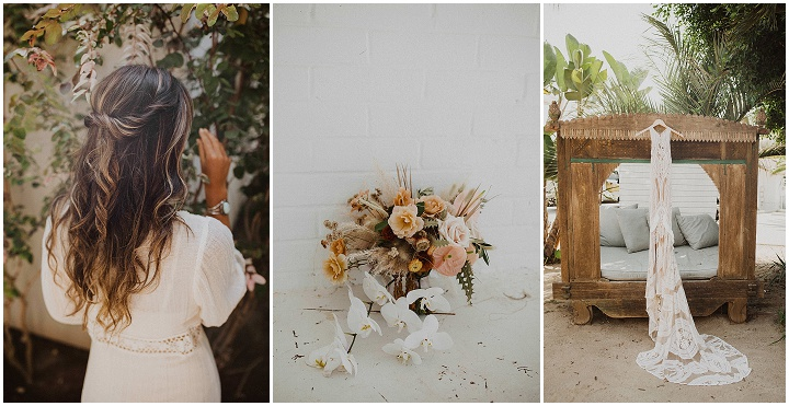 Jenna and Matthew's Intimate Macrame Filled California Wedding by Gabriel Conover Photography