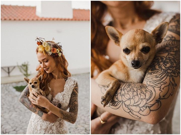 'Modern Love' Terracotta Dream Wedding Inspiration in Portugal