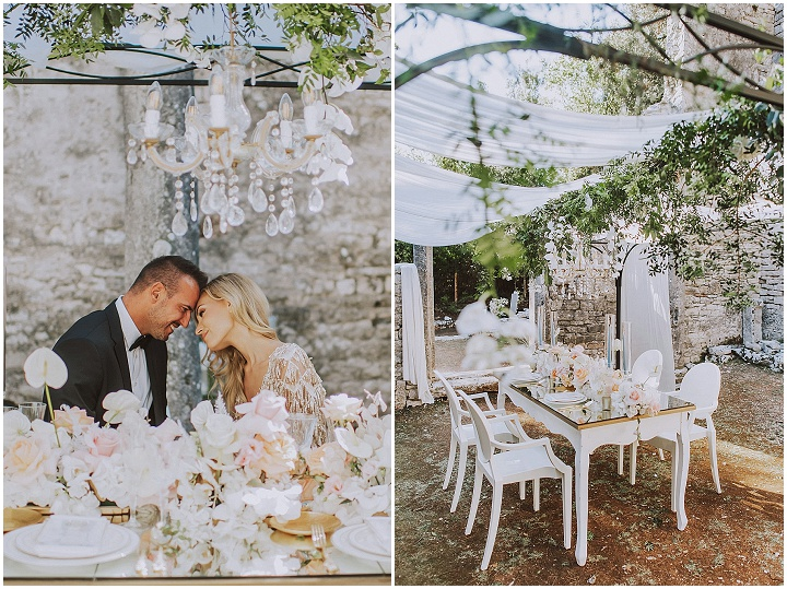 Romantic Elegant Lux Wedding Inspiration on The Brijuni Islands