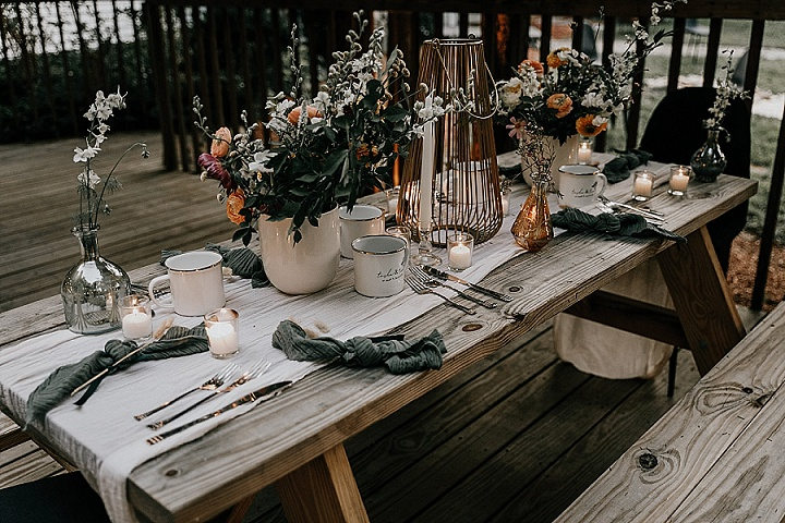 Natasha and Tim's 'Summer Camp Meets Woodland Whimsy' Micro Wedding by Astray Photography