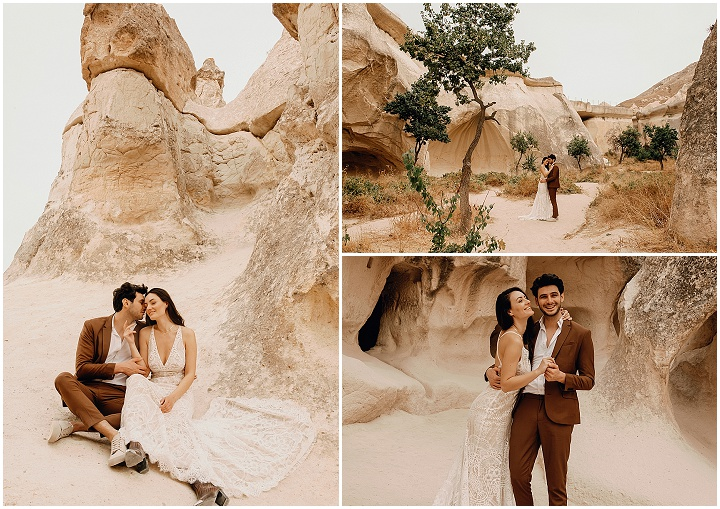 Sunrise Ceremonies, Camel Rides and Hot Air Balloons - An Intimate Elopement in Turkey