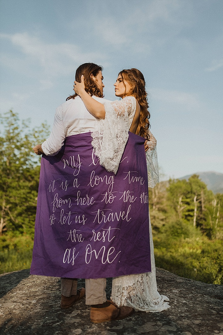 'Easy, Care-Free, Boho' Back to Nature Relaxed Elopement Inspiration