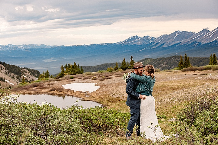 Heather and Evan's Adventurous Micro Wedding in Colorado by Celebrate Again