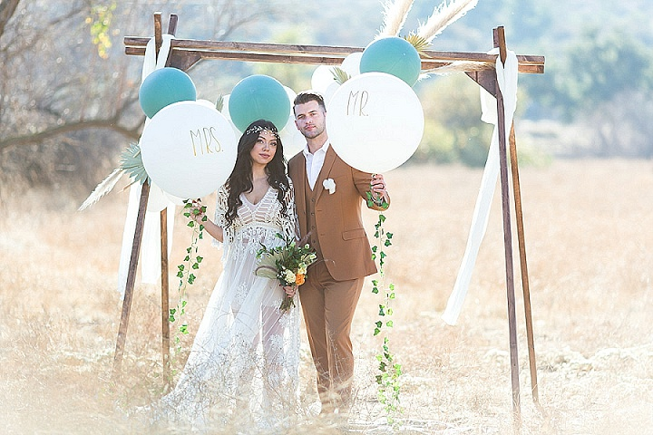 'You Are My Moon and My Stars' Celestial Wedding Inspiration