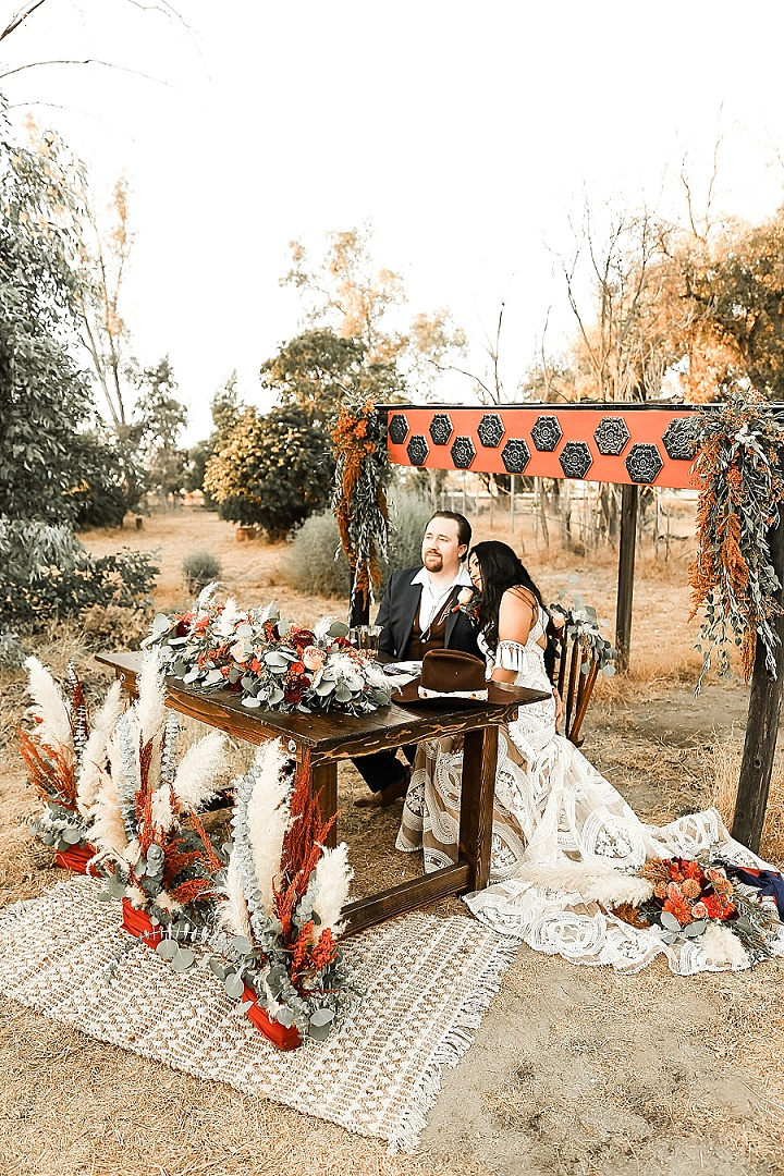 'Boho Western' Autumnal Californian Wedding Inspiration
